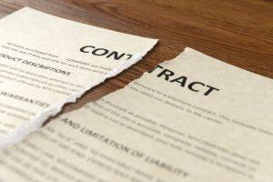 breach contract
